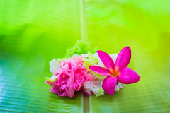 Sweet coconut candy. Thailand Stock Image