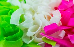 Sweet Coconut Ribbon Royalty Free Stock Photography