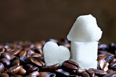 Sweet coffee Royalty Free Stock Images