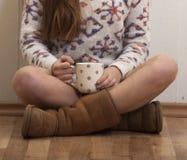 Sweet Coffee Morning Stock Photography