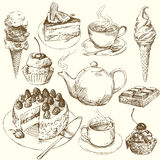 Sweet collection Royalty Free Stock Photography