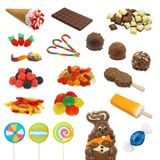Sweet collection Stock Photography