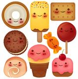 Sweet Collection. Vector File Stock Photo