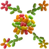 Sweet color candy. Royalty Free Stock Photo