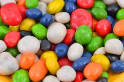 Sweet color candy Stock Image