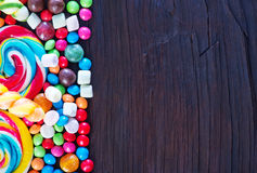 Sweet color candy Stock Photography