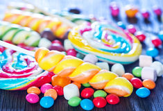 Sweet color candy Royalty Free Stock Photos