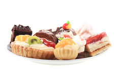 Sweet color desserts Stock Image