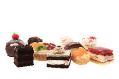 Sweet color desserts Royalty Free Stock Photography