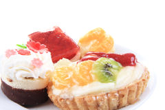 Sweet color desserts Stock Photos