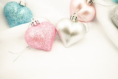 Sweet color hearts for Romantic background Stock Photo