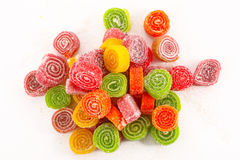 Sweet colorful candies Royalty Free Stock Images