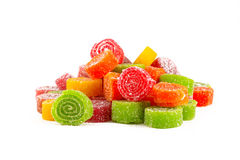 Sweet colorful candies Stock Photos