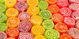 Sweet colorful candies Stock Images