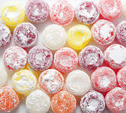 Sweet colorful candies lollipops Royalty Free Stock Photo