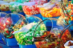 Sweet Colorful Candy Stock Photos