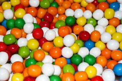 Sweet Colorful Candy Balls Stock Image