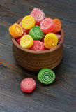 Sweet colorful candy Stock Photography
