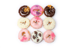 Sweet Colorful delicious donuts Stock Photo