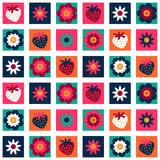 Sweet colorful seamless pattern Stock Images