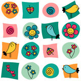Sweet colorful seamless pattern Stock Image