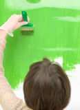 Sweet colour green Royalty Free Stock Photography