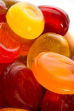 Sweet coloured bonbons Stock Photography