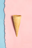 Sweet cone. Royalty Free Stock Photo