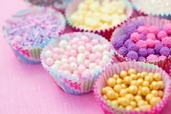 Sweet confectionery. Lots of sweet confectionery - sweet food Royalty Free Stock Photo