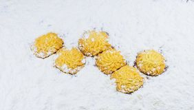 Sweet cookies ,Happy baking Royalty Free Stock Images