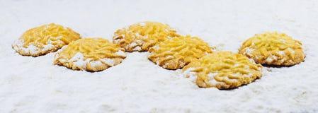Sweet cookies ,Happy baking Stock Image