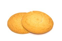 Sweet cookies. Isolated on white Stock Photography