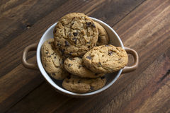 Sweet cookies in bowl, food Stock Photo
