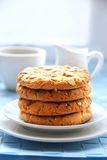 Sweet cookies with different kinds of seeds Royalty Free Stock Photography