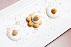 Sweet cookies on a plate Stock Photography