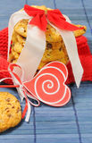 Sweet cookies for Valentine's day Stock Image