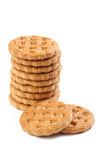Sweet cookies on white background Stock Photo