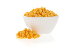 Sweet corn in a bowl Stock Photography