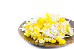 Sweet corn dessert Royalty Free Stock Photography