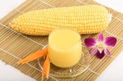 Sweet corn juice. Stock Image