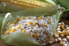 Sweet corn rice Stock Photography