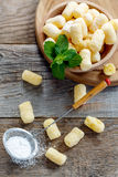 Sweet corn sticks and sieve with powdered sugar. Royalty Free Stock Image