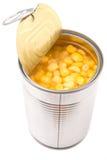 Sweet Corn In Tin Can I Royalty Free Stock Photos