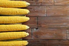 Sweet corns Stock Photo
