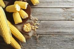 Sweet corns Stock Photos