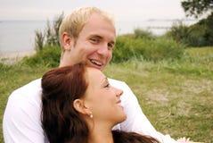 Sweet couple Stock Photos