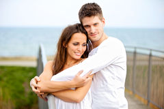 Sweet Couple in Love Stock Image