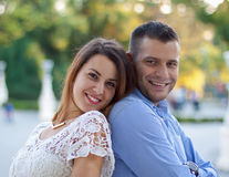 Sweet couple Stock Images