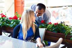 Sweet couple Stock Photography