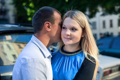 Sweet couple Stock Image
